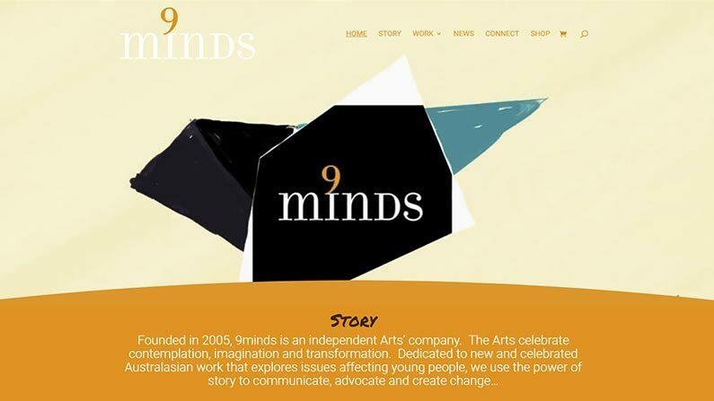Inspiring Independant Arts Company Website Goes Live.  Introducing 9minds.