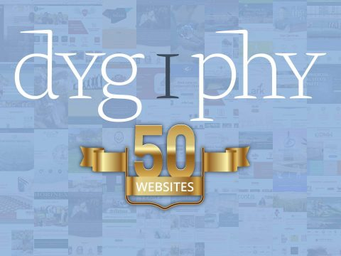 dygiphy turns 50 websites poster