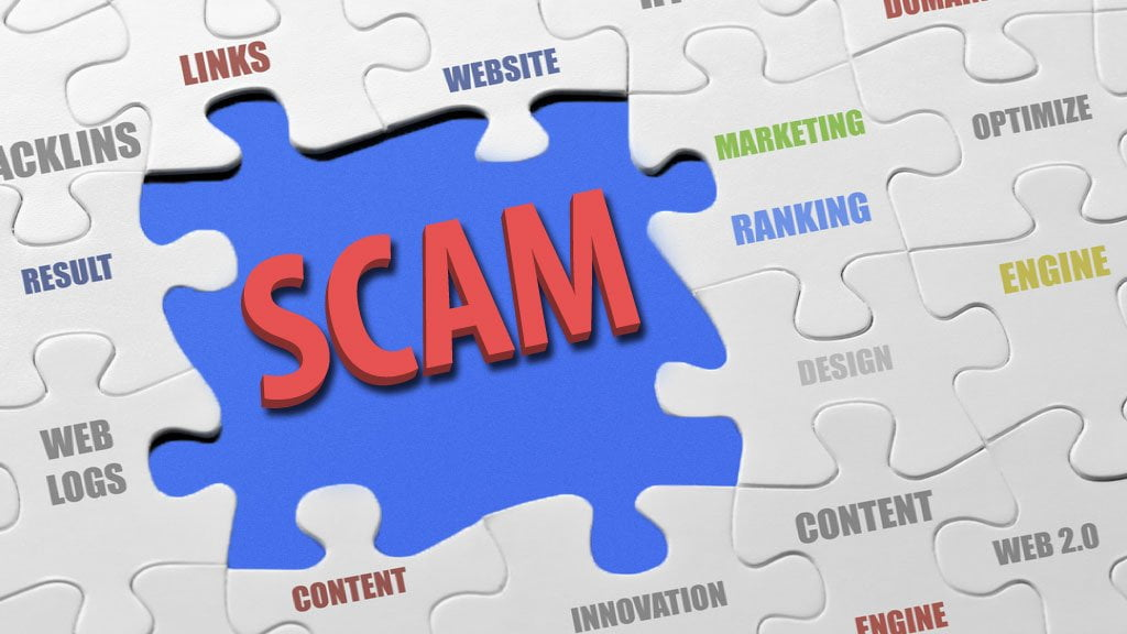 Are you being scammed by a Search Engine Optimisation (SEO) service?