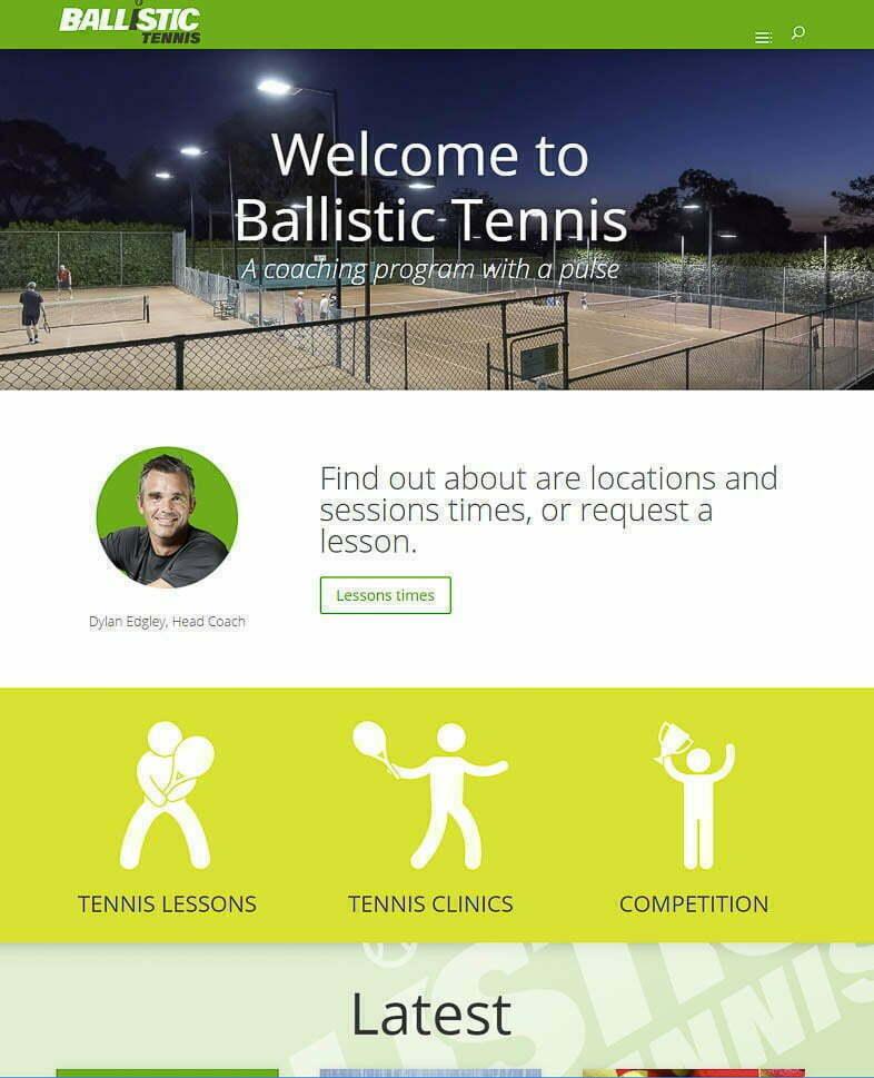 Ballistic Tennis