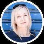 catherine ashley, copywriter, portrait
